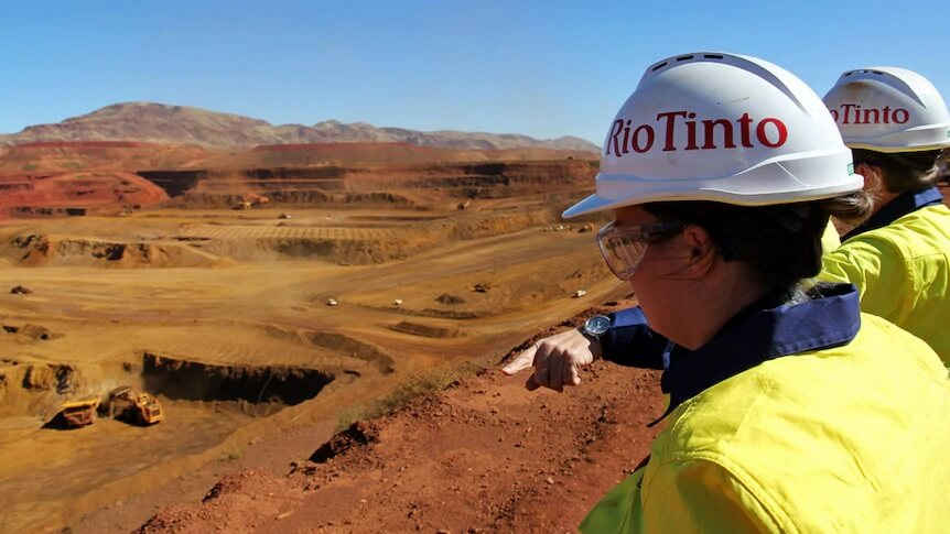 It appears that Rio Tinto is on a solid growth